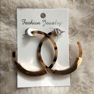 See deal! Acrylic hoop earrings!